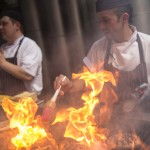 Chefs cooking with flames - sm
