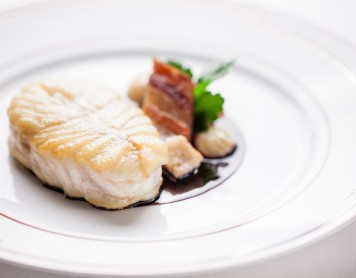 'Tronçon' of TURBOT 'matelote', country bacon®pierremonetta-59_0