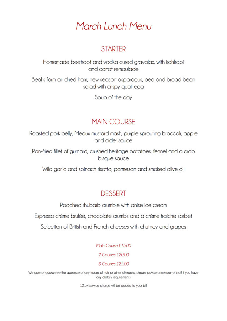 March lunch menu copy