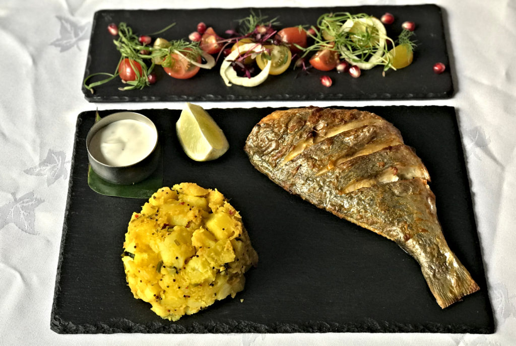 Tandoori Black Bream - Indian Summer