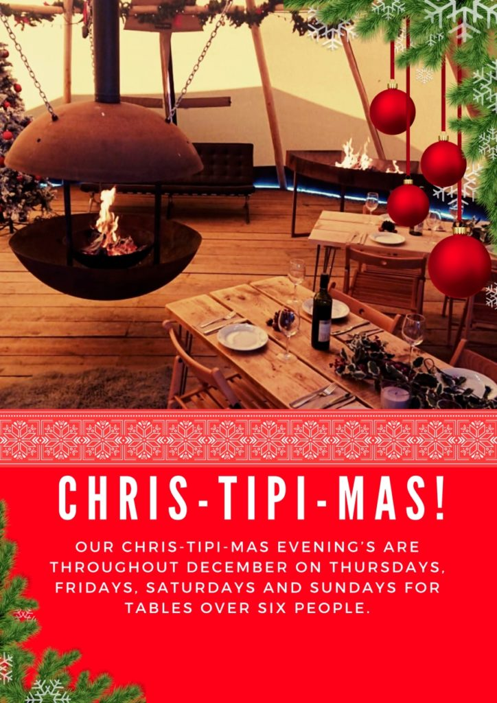 Christmas Tipi Evenings copy